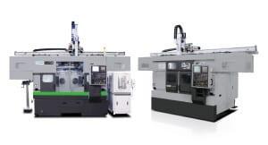Горизонтальные фронтальные токарные обрабатывающие центры двухшпиндельные FFG DMC DL TT серия