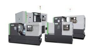 Горизонтальные токарные обрабатывающие центры с направляющими роликовыми и скольжения FFG DMC DL B серия
