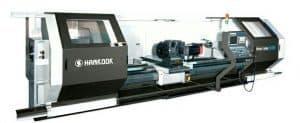 Горизонтальные токарные обрабатывающие центры с направляющими роликовыми и скольжения Hankook HANTURN Series