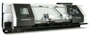Горизонтальные токарные обрабатывающие центры с направляющими роликовыми и скольжения Hankook PROTURN Series