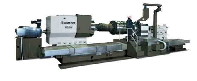 Станки токарные для обработки прокатных валков Hankook R25W/R50W/R70W