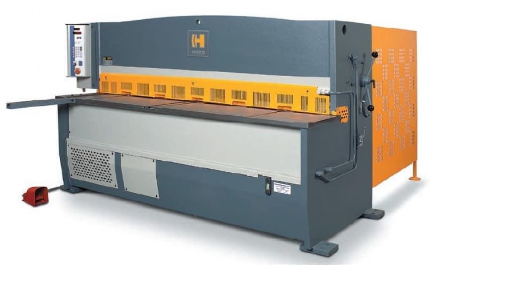 HACO Ножницы гидравлические с верхним расположением рабочих цилиндров серии HSL/HSLX