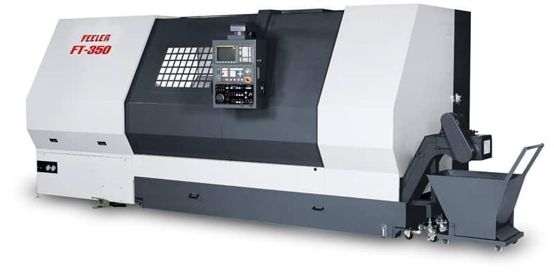 Горизонтальные токарные обрабатывающие центры с направляющими роликовыми и скольжения FFG Feeler FT/HT серия