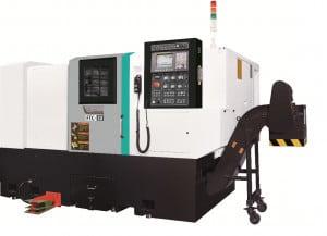 Горизонтальные токарные обрабатывающие центры компактные Feeler FTC серия