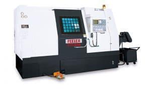 Горизонтальные токарные обрабатывающие центры компактныеb FFG Feeler FTC/FTB серия