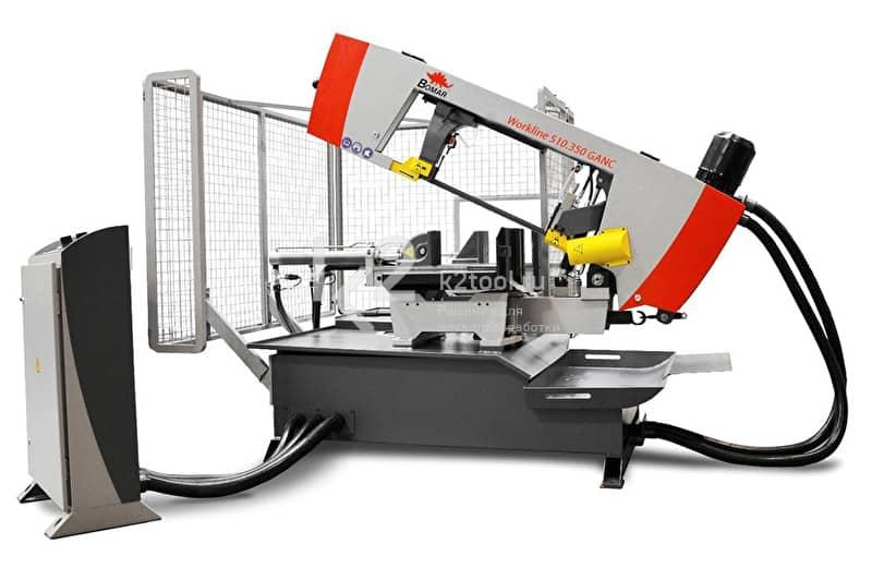 Станки ленточнопильные автоматические консольные BOMAR Workline cерия